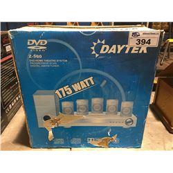 DAYTEK DVD HOME THEATRE SYSTEM