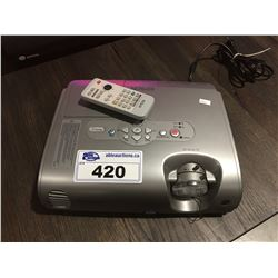 EPSON POWER LITE 76C PROJECTOR WITH REMOTE