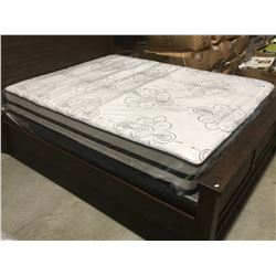 "QUEEN SIZE CHIME 12"" HYBRID MATTRESS & BOXSPRING SET"