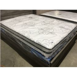 "QUEEN SIZE CHIME 10"" HYBRID MATTRESS & BOXSPRING SET"