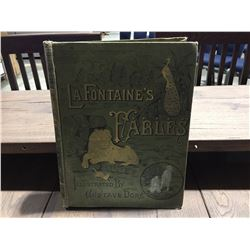 EARLY COPY LAFONTAINE'S FABLES ILLUSTRATED BY GUSTAVE DORE