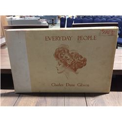 EVERDAY PEOPLE CHARLES DANA GIBSON 1904 SKETCHINGS BOOK