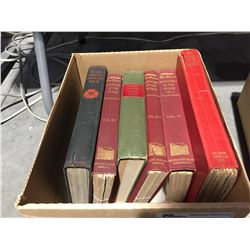 BOX OF 6 BOOKS ON THE HISTORY OF WAR