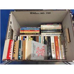BOX FULL OF ASSTD PLAYBOY SOFTCOVER BOOKS