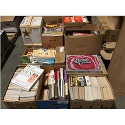 PALLET LOT OF ASSTD EROTICA PUBLICATIONS - NOVELS/JOY OF SEX BOOKS ECT