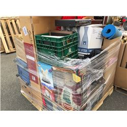 1 PALLET LOT OF ASSTD HOUSEHOLD  & MISC. ITEMS (A)