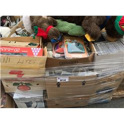 1 PALLET LOT OF ASSTD HOUSEHOLD  & MISC. ITEMS (B)