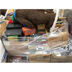 1 PALLET LOT OF ASSTD HOUSEHOLD  & MISC. ITEMS (C)