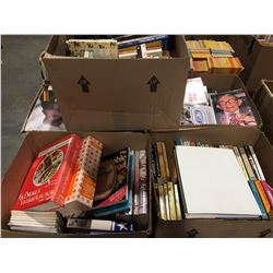 PALLET LOT OF ASSTD BOOKS - NICE MIXTURE OF VINTAGE & NEW