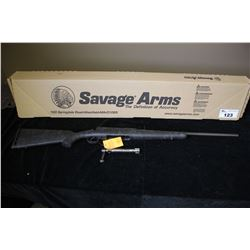 SAVAGE AXIS 22-250 WEB/BLUED SERIAL#J162495