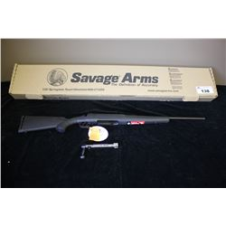 SAVAGE AXIS 243 WIN 22 BOLT ACTION RIFLE, SERIAL#J308701