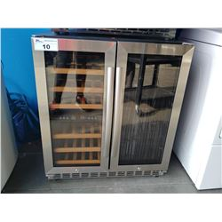 "30"" WIDE EURODIB STAINLESS STEEL WINE COOLER"