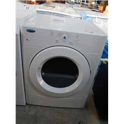WHIRLPOOL ACCUDRY FRONT LOAD DRYER