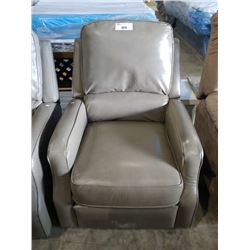 LIGHT BROWN RECLINER