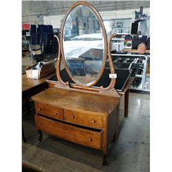ANTIQUE 2 DRAWER VANITY