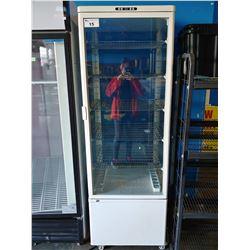 COMMERCIAL GLASS DOOR DISPLAY FREEZER