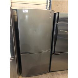 SCRATCH & DENT STAINLESS STEEL AND GREY SAMSUNG SWING OUT FRIDGE AND FREEZER