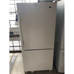 SCRATCH & DENT WHITE MAYTAG SWING OUT FRIDGE WITH SWING OUT FREEZER