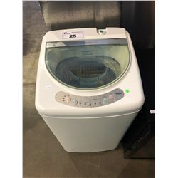 WHITE HAIER PORTABLE CLOTHES WASHER