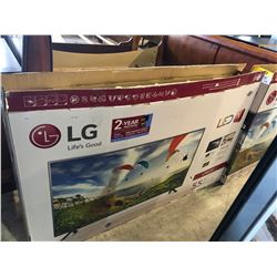 "55"" LG LED TV WITH BOX, STAND AND REMOTE"