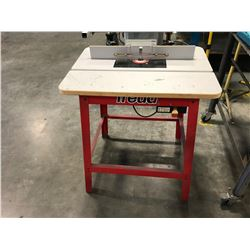 "FREUD FT2200VCE 1/2"" ROUTER WITH FREUD ROUTING TABLE"