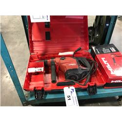 HILTI TE 60 CORDED DEMOLITION HAMMER DRILL IN CASE