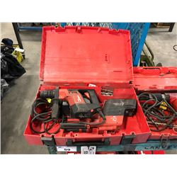 HILTI TE 5 CORDED DEMOLITION HAMMER DRILL IN CASE