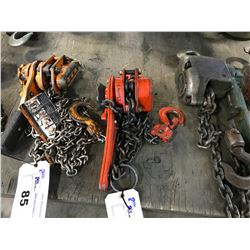 ORANGE JET 3/4 TON CHAIN PULLER