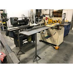 GEKA MINICROP 2006 IRON WORKER WITH EXTENSION BEDS,  ATTACHMENTS & PUNCHES