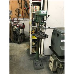 """REXON RDM-170F 16-1/2"""" VARIABLE SPEED UPRIGHT DRILL PRESS WITH VICE"""