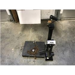 2 TRAILER JACKS & FORKLIFT HITCH ACCESSORY