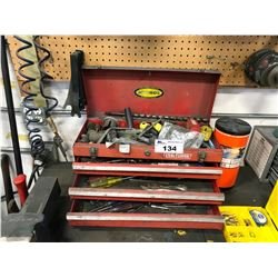 CRAFTSMAN TOOL BOX WITH ASSORTED TOOLS AND CONTENT