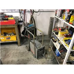 HYPERTHERM POWER MAX 600 PLASMA CUTTER ON MOBILE CART