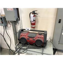 SONY 25-HIOCP MP3 & RADIO BOOM BOX