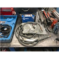 MILLER MAXSTAR 140 STR PORTABLE WELDER WITH CABLES
