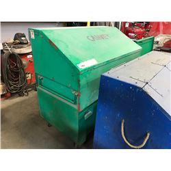 GREENLEE MOBILE JOB SITE TOOL BOX