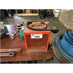 ORANGE ELECTRICAL HEATER WATTS 4800 VOLTS 240