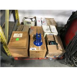 PALLET OF ASSORTED BALDOR MOTORS