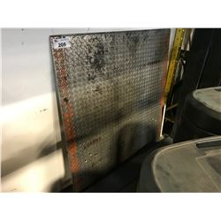 HEAVY DUTY ALUMINUM DOCK PLATE