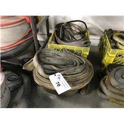 ASSORTED SIZED LIFTING STRAPS