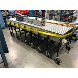 BEST FLEX MOBILE EXPANDABLE CONVEYOR SYSTEM WITH REVERSABLE VARIABLE SPEED ELECTRIC MOTORS