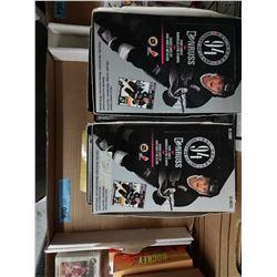 TRAY LOT OF 8 BOXES OF HOCKEY CARDS