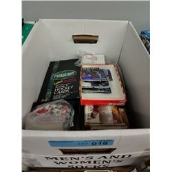 LARGE BOX LOT OF MISC HOCKEY CARDS