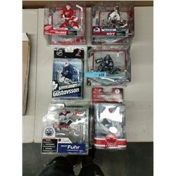 6 X NEW IN BOX MACFARLANE NHL GOALIE FIGURINES