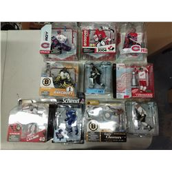 10 X NEW IN BOX MACFARLANE NHL PLAYER FIGURINES