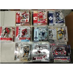 10 X NEW IN BOX MACFARLANE NHL PLAYER FIGURINES