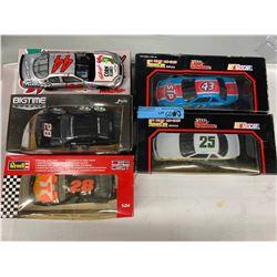 5 X STOCK CAR/NASCAR DIE CAST MODEL CARS
