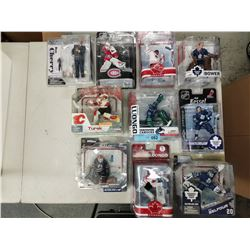 10 X NEW IN BOX MACFARLANE NHL FIGURINES
