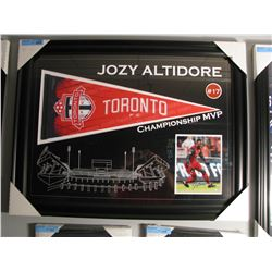 SIGNED & FRAMED JOZY ALTIDORE COLLAGE
