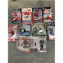 10 X NEW IN BOX MCFARLANE NHL FIGURINES